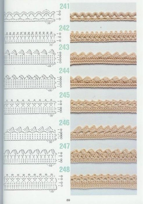 Часть 1. Часть 2. ирландское вязание.  Много вязания крючком.  Добавим в обвязку края крючком.
