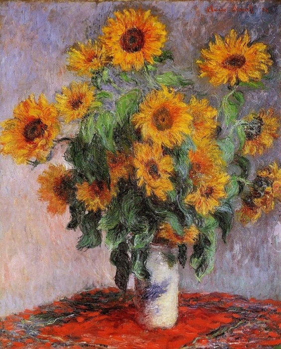 Bouquet of Sunflowers 1880
