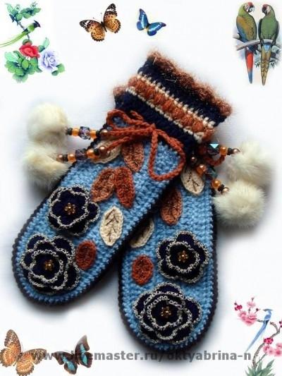 Идеи для вязания варежек