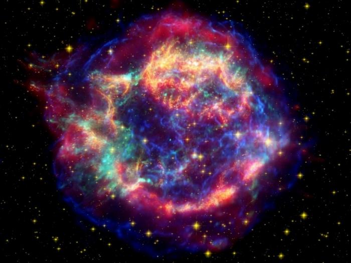 Сверхновая из созвездия Кассиопея