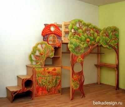 Кровать Чердак С Рабочей Зоной Делаем Сами