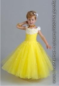 Красивые детские платья обсуждение