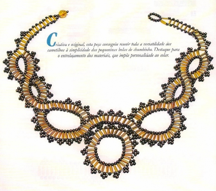 Beading Necklace Patterns Make Handmade Crochet Craft