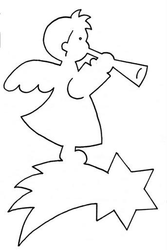 Новогодние ангелы из бумаги своими руками шаблоны