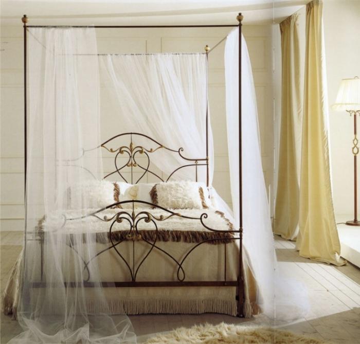 Дизайн спален с балдахином