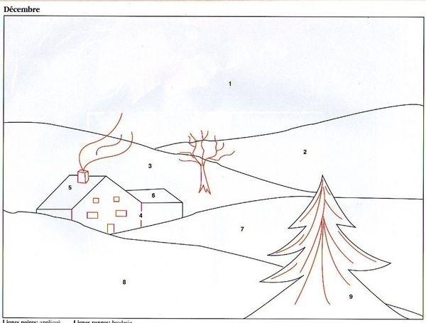 """Верин Дом.  Фото и схемы панно взяты из журнала  """"Magiс patcb """" ."""