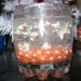 Гелевая свечка с пузырьками