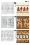Рхема вязания кофты с норвежским узором.