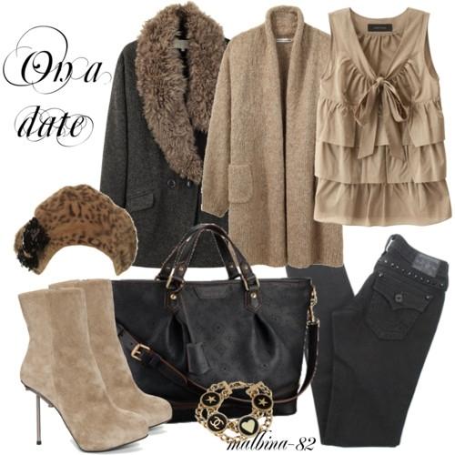 Зимний Look.