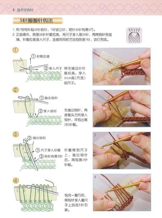 Как связать шарф крючком для начинающих пошагово фото