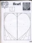 """Пэчворк шитье, схемы блока  """"сердечки """", много разных вариантов, для мастериц и начинающих рукодельниц."""