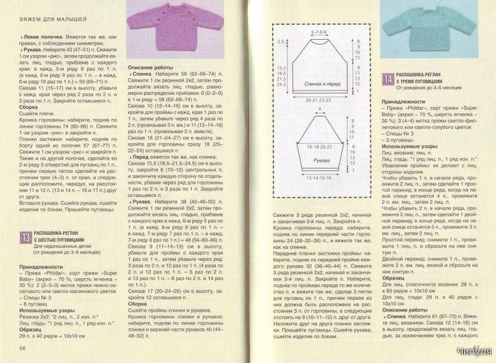 Вязание спицами детские кофты для мальчиков с регланом 67