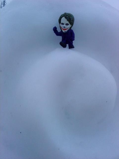 Joker-6 в снеге