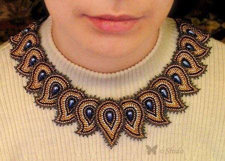 """...Фитцджеральд  """"Мозаичное плетение из бисера """". плетение кирпичное."""