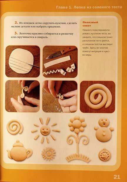 Соленое тесто и изделия из него своими