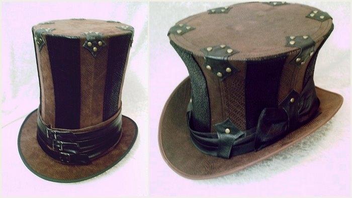 Сделать шляпу шапокляк 159
