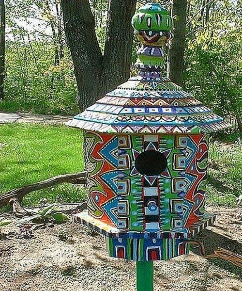 Мозаичный домик
