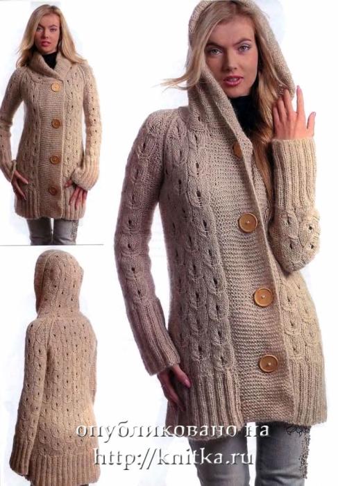 Рерия сообщений Вязание спицами - пальто, длинные кардиганы: Часть.