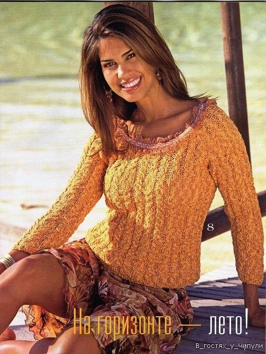 летние вязаные кофты реглан - Выкройки одежды для детей и взрослых.