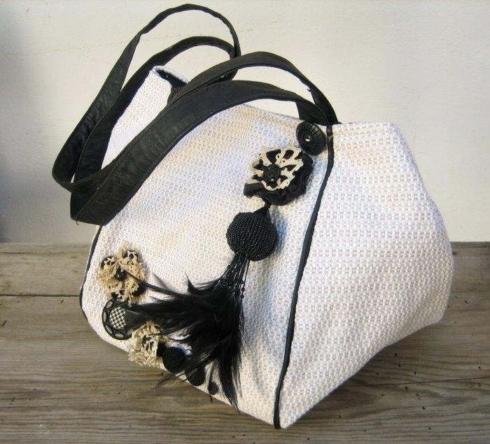 Пляжные лоскутные, Женские сумки.