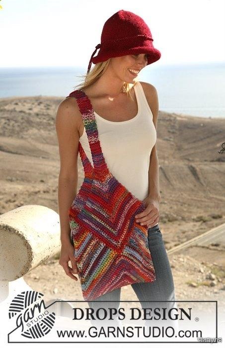Шапочка и сумка торба - Вязание для женщин.