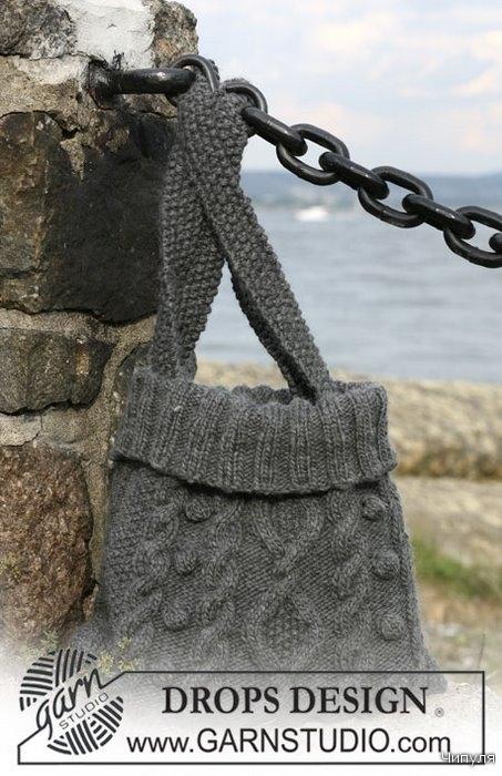 Просмотров: 312 Добавил: Olga Дата.  Вязаная сумка - кошка...