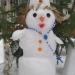 снеговик с крестом)