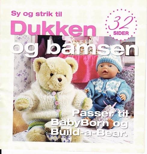 knitting books: knitting fashion for dolls