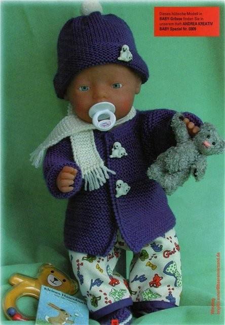 Кофта для куклы как сделать