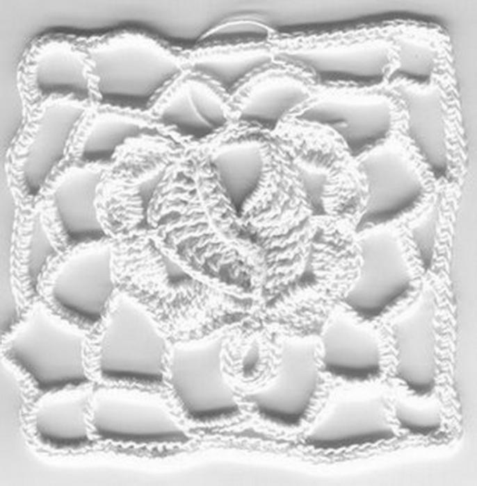 【引用】钩针基础:单元花图案 - 荷塘秀色 - 茶之韵