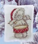 """Схемы вышивки крестом  """"Мишки TEDDY И TATTY.  Рождество """" - 3 часть."""