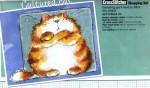 Буклет схем для вышивки крестом от Маргарет Шерри с коллекцией кошек.