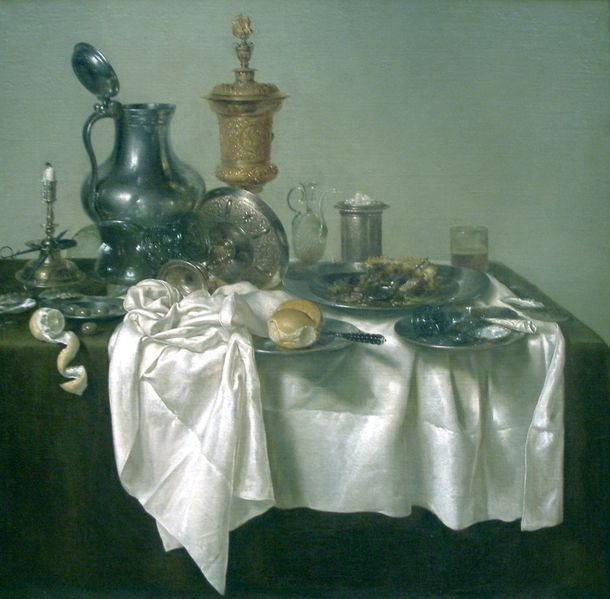 Banquet Piece with Mince Pie Year: 1635