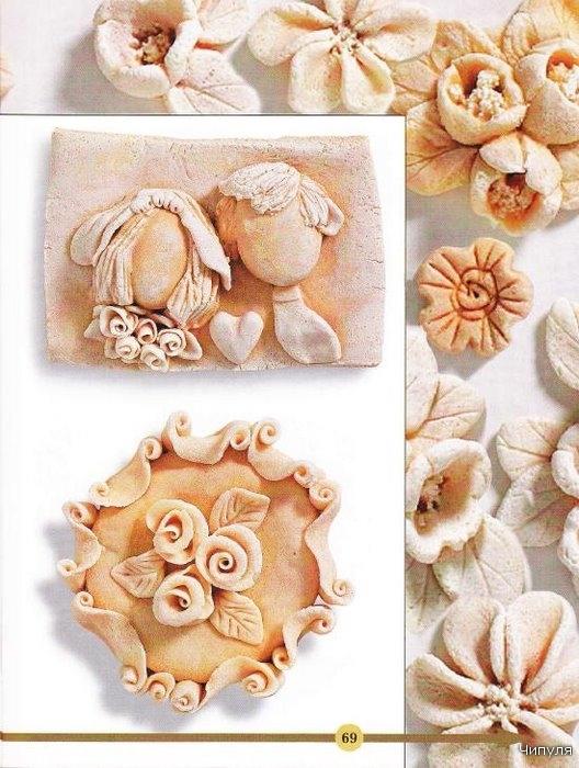 Красивые украшения из соленого теста своими руками