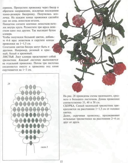 Мария Федотова и Галина Валюх.Цветы из бисера.