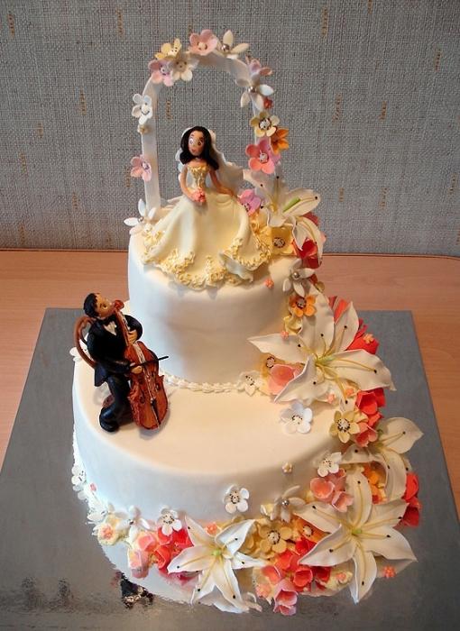 Торты, Торты на заказ, Свадебный торт, ОАО...