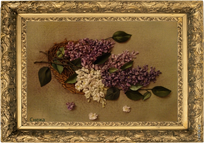 Розы вышитые лентой.  Энн Кокс.Вышивка шелковыми лентами.Часть 2. Часть 98.