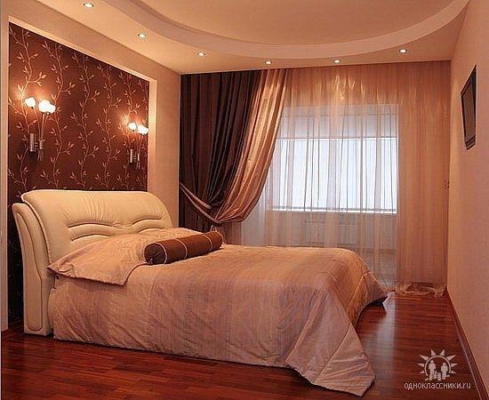интерьер спальни комнаты фото.