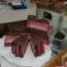 Чудесный  мыльный торт Клубника в Шоколаде в готовом виде