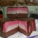 Чудесный  мыльный торт Клубника в Шоколаде