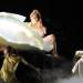 Леди Гага (Lady Gaga), конечно же, как всегда, перетянула всё внимание публики на себя, появившись в совершенно оригинальном «наряде» на красной ковровой дорожке Grammy-2011 – в яйце, в котором её несли.