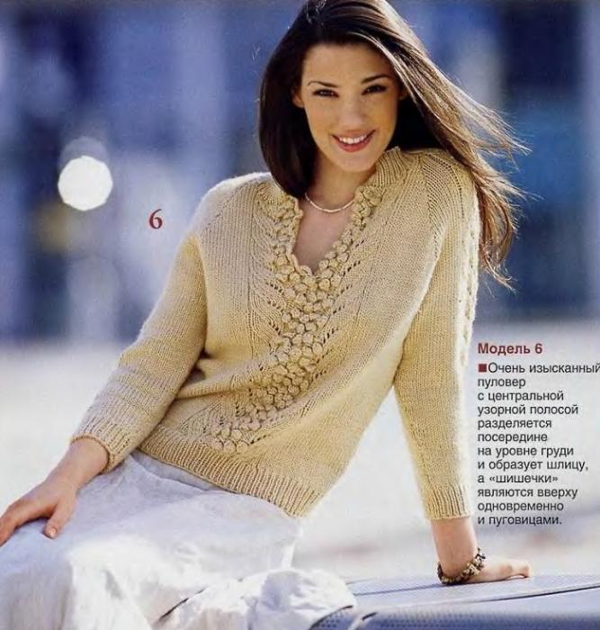 Модели Вязаных Пуловеров Для Женщин С Доставкой