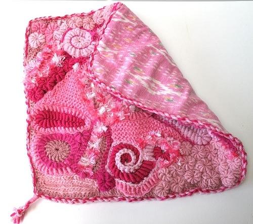 Вязаная прелесть! Розовый фриформ 3029889_3153151596_cec3493117