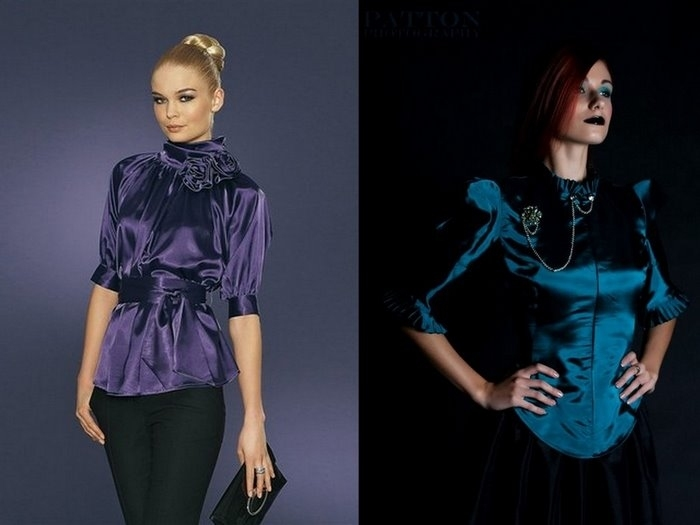 Модные Блузки 2014 В Спб
