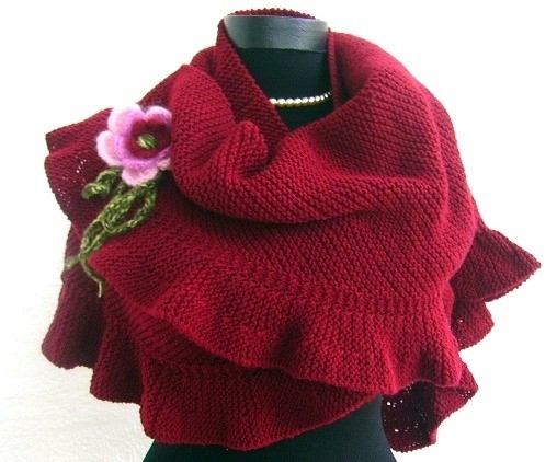 fashion knitting shawls