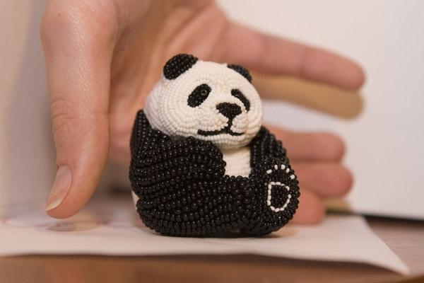 Как из резинок сделать панду