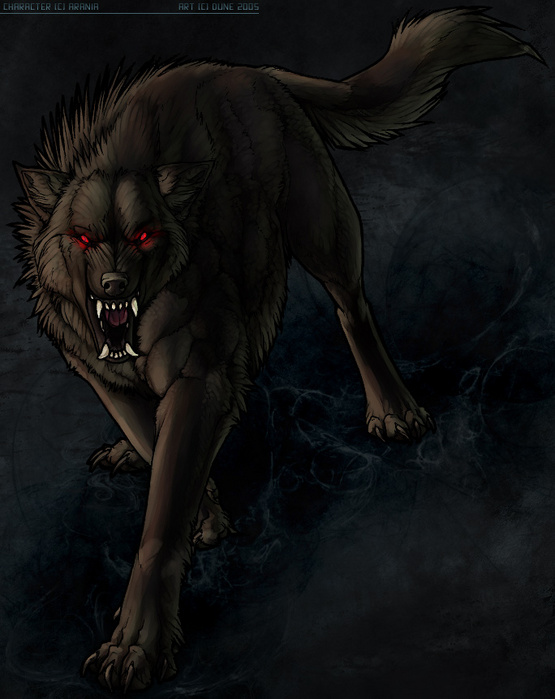 Wolf demon mythology