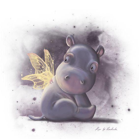 Смешные рисунки бегемотов, почему