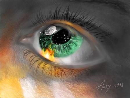 Зелёный глаз (448x336, 36Kb)