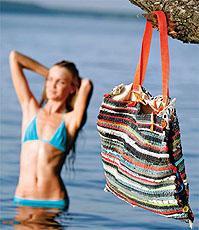 пляжные сумки своими руками 2012 - Интернет магазин одежды, как сшить...